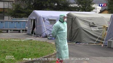 Coronavirus : le système de santé italien au bord de la rupture