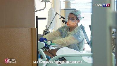Coronavirus : les cliniques privées en renfort