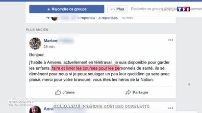 Coronavirus : les Français solidaires avec les soignants