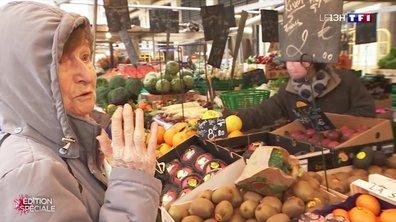Coronavirus : les gestes barrières respectés au marché d'Aligre
