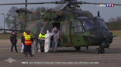 Coronavirus : les patients évacués pour soulager les hôpitaux saturés à Metz