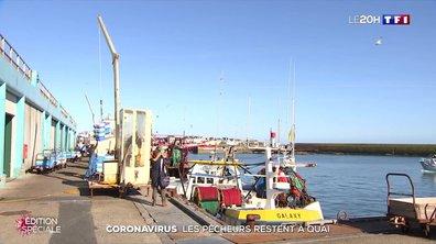 Coronavirus : les pêcheurs restent à quai