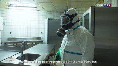 Coronavirus : les services des entreprises de désinfection très demandés