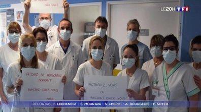 Coronavirus : les soignants interpellent les Français