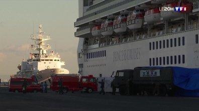 Coronavirus : Quatre Français parmi les passagers placés en quarantaine sur le paquebot japonais