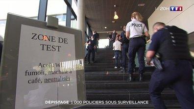 Coronavirus : test massif sur des policiers après des contaminations dans les commissariats de Lille et d'Arras