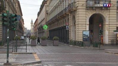 Coronavirus : Turin, une ville morte