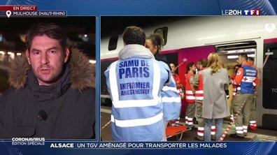Coronavirus : un TGV médicalisé va évacuer des malades d'Alsace