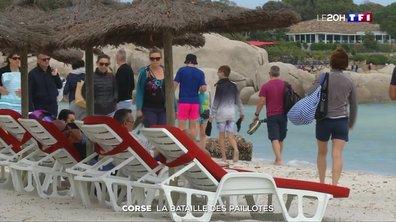 Corse : la bataille des paillotes