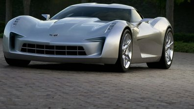 Corvette Stingray Concept : l'héroïne de film