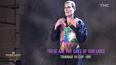 "Les coulisses du tout dernier clip de Freddie Mercury, ""These Are The Days of our lives"""
