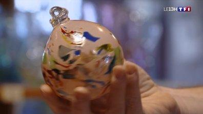 Coup de cœur de Noël : les boules de Noël de la verrerie du Marais en Auvergne