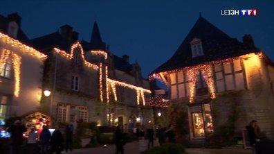 Coup de cœur de Noël : les illuminations de Rochefort-en-Terre