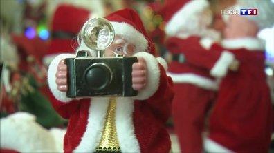 Coup de cœur de Noël : une collectionneuse de Père Noël en Charente
