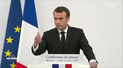 """Le coup de sang d'Emmanuel Macron sur sa """"visite privée"""" du Taj Mahal"""