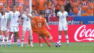 USA - Pays-Bas (2 - 0) : Voir l'occasion de Spitse en vidéo