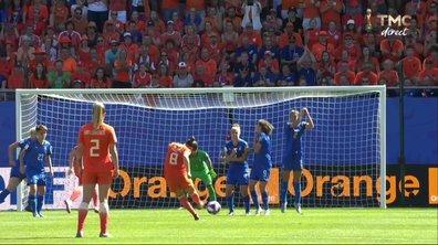 Italie - Pays-Bas (0 - 0) : Voir le coup franc surpuissant de Spitse en vidéo