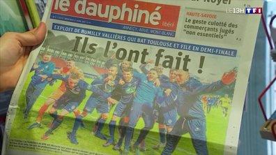 Coupe de France : Rumilly-Vallières savoure son exploit