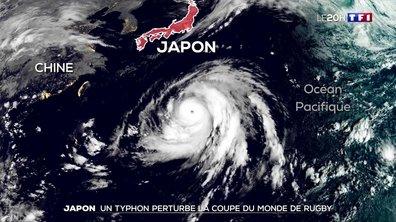 Coupe du monde de rugby 2019 au Japon : le match France-Angleterre annulé à cause du typhon Hagibis