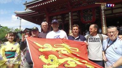 Coupe du monde de rugby 2019 au Japon : les supporters français partent à la découverte de Tokyo