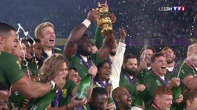 Coupe du monde de rugby 2019 au Japon : un troisième sacre pour l'Afrique du Sud
