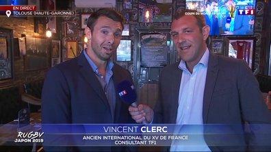 Coupe du monde de rugby 2019 au Japon : Vincent Clerc était en direct depuis Toulouse, la capitale du rugby
