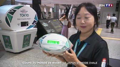 Coupe du monde de rugby : le Japon en mode ovale