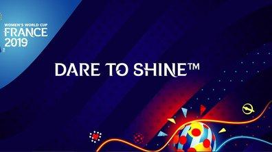 Coupe du monde féminine de football 2019 - Le Logo et le slogan de la compétition dévoilés
