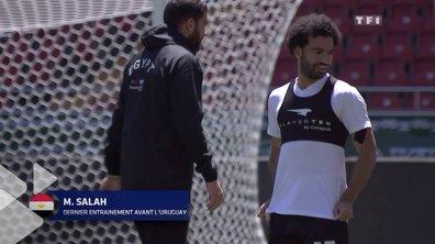 """Mohamed Salah """"presque"""" assuré de jouer face à l'Uruguay"""