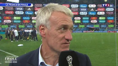 "Didier Deschamps : ""Beaucoup de fierté"""