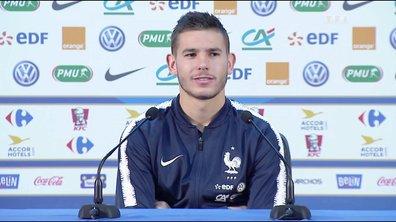 Equipe de France / L. Hernandez : « A nous de continuer »