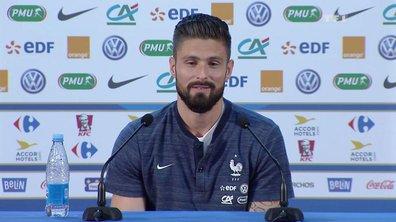 """Olivier Giroud sur Thierry Henry : """"J'aurais préféré qu'il soit avec nous"""""""