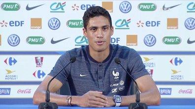 """""""On laissera la rivalité à l'apéro"""", Raphaël Varane donne le ton avant France-Belgique"""