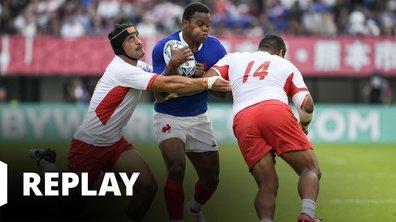 France - Tonga (Coupe du monde de rugby - Japon 2019)