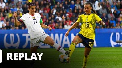 Suède - USA - Coupe du Monde Féminine de la FIFA, France 2019