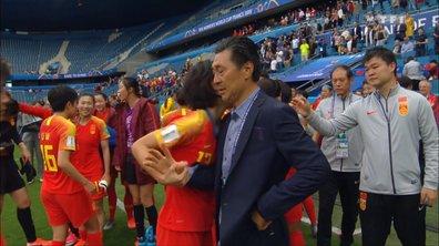 Les larmes de joie des Chinoises