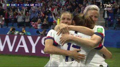 Suède - USA (0 - 2) : Voir le but de Heath en vidéo