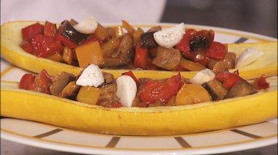 Courgette aux légumes et balsamique