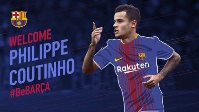 Officiel - Mercato : Coutinho rejoint le FC Barcelone pour 160 millions d'euros