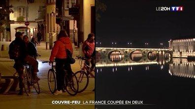 Couvre-feu : la France coupée en deux