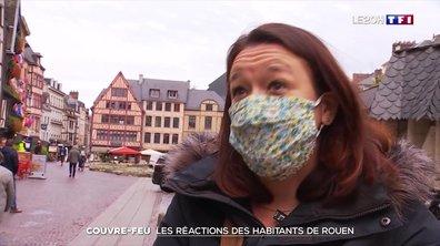 Couvre-feu : les réactions des habitants de Rouen