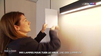 Covid-19 : des lampes pour tuer le virus