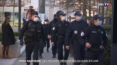 Covid-19 : des mesures renforcées en Eure-et-Loir