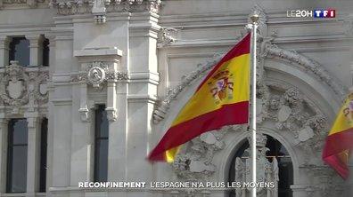 Covid-19 : l'Espagne n'a plus les moyens de reconfiner