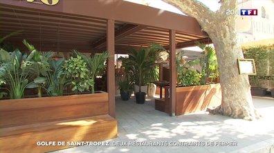 Covid-19 : la fermeture de deux établissements inquiète les restaurants du Golfe de Saint-Tropez