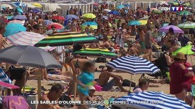 Covid-19 : la mairie des Sables-d'Olonne ferme les plages à marée haute