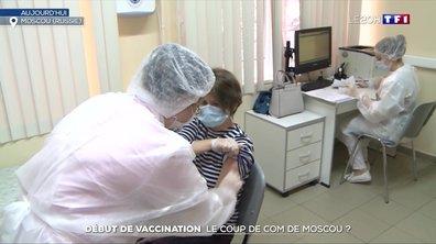 Covid-19 : la Russie lance une campagne de vaccination massive