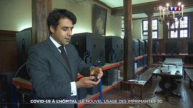 Covid-19 : le nouvel usage des imprimantes 3D à l'hôpital Cochin
