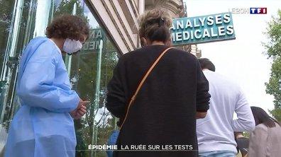 Covid-19 : le pass sanitaire provoque une ruée sur les tests