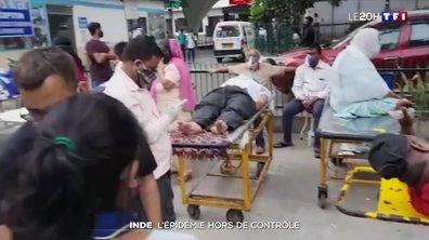Covid-19 : le système de santé indien craque face à l'afflux de malades